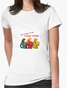 Heathers - Welcome To My Candy Store Womens Fitted T-Shirt