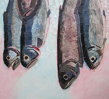 """Fresh fish"" by Richard Robinson"