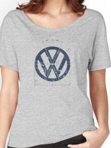 VW Old School Logo Women's Relaxed Fit T-Shirt