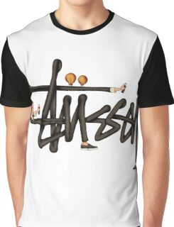 STUSSY - TOP art BOMBERMAN edition Graphic T-Shirt