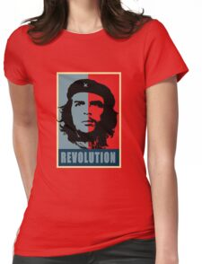 Fidel Castro Che Womens Fitted T-Shirt