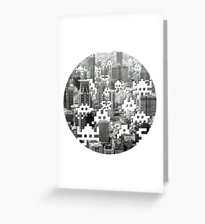 Space Invaders! Greeting Card