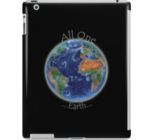 All One Earth iPad Case/Skin