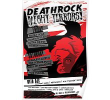 Poster for Deathrock Night Terrors I | The Birds Poster