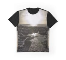 Pembrokeshire Sunset with flare! Graphic T-Shirt