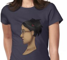 Cassandra Goth Womens Fitted T-Shirt