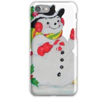 Let it SNOW man iPhone Case/Skin