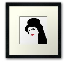 Amy Amy Amy Framed Print