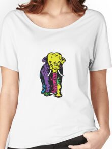 color African elephant Women's Relaxed Fit T-Shirt