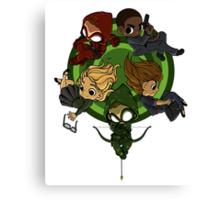 Arrow S3 Promo Poster Variant - Version 2 Canvas Print