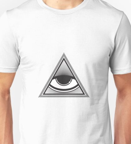 Eye in the Pyramid Unisex T-Shirt