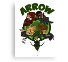 Arrow S3 Promo Poster Variant - Version 3 Canvas Print