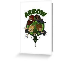 Arrow S3 Promo Poster Variant - Version 3 Greeting Card