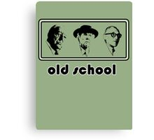 Old school architects Architecture T shirt Canvas Print