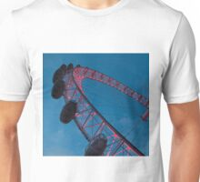 The London Eye at night Unisex T-Shirt