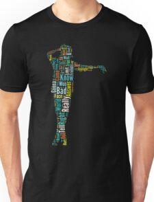 Michael Jackson Typography Poster Bad Unisex T-Shirt