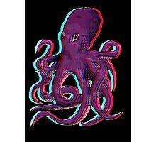 3D Octopus Photographic Print