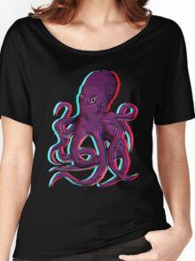 3D Octopus Women's Relaxed Fit T-Shirt