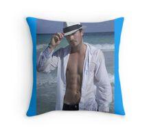 Ian Somerhalder (Hot Summer Body) Throw Pillow