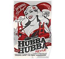 Hubba Hubba Revue | Sparkly Devil | Memorial/San Francisco Burlesque Poster