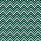 Mint Green Chevrons by destinysagent