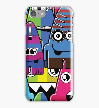 Cute Monsters iPhone Case/Skin