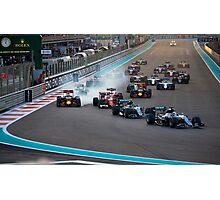 Formula 1 Abu Dhabi 2016 final race  Photographic Print