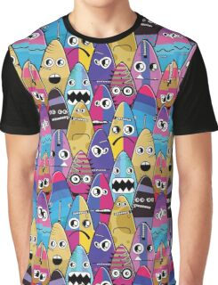 Monsters with emotions Graphic T-Shirt