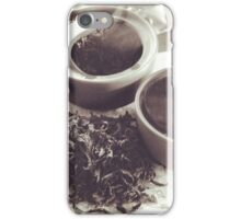 Chinese tea iPhone Case/Skin