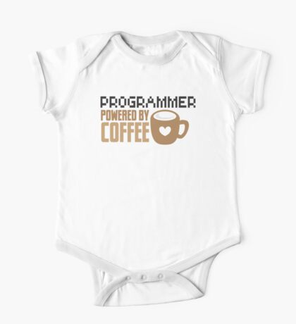 Programmer powered by coffee One Piece - Short Sleeve