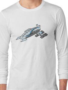 Normandy Ship Long Sleeve T-Shirt