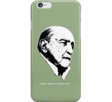 What would Oscar do? Architecture T shirt iPhone Case/Skin