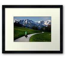 Route vers Oz Framed Print