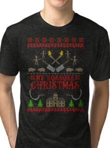 My Roanoke Christmas Tri-blend T-Shirt