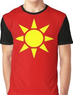 Yellow Sun Graphic T-Shirt