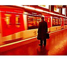 Last Train to Nowhere Photographic Print