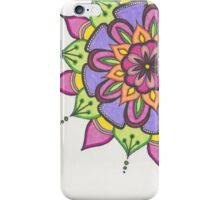 Citrus Flower mandalas iPhone Case/Skin