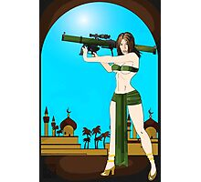 Bazookanne Over Baghdad Photographic Print