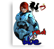 RVB Agent carolina  Canvas Print