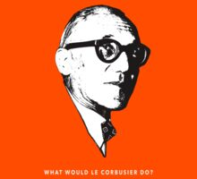 What would le Corbusier do? Architecture T shirt by pohcsneb