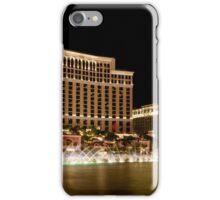 las vegas | bellagio fountain iPhone Case/Skin