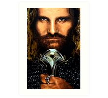 Lord of the Rings: Aragorn Art Print