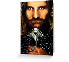 Lord of the Rings: Aragorn Greeting Card
