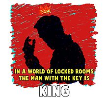 The Key King BBC Sherlock Moriaty Photographic Print