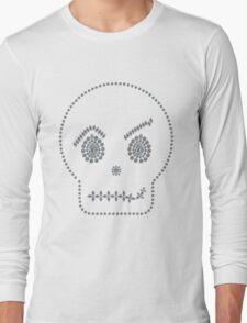 Skull Smirk Long Sleeve T-Shirt