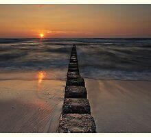 Sylt - Sundown #2 by Ronny Falkenstein