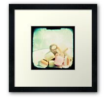 Dolly mixture Framed Print