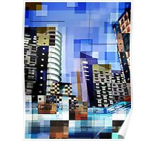 Retro City Tower Tiles Poster
