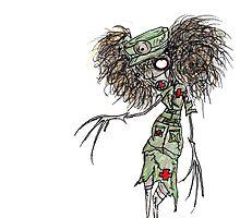Zombie Nurse by DismalDrawings