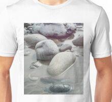 Stones on the beach Unisex T-Shirt